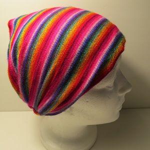 Accessories - Wide Rainbow Boho Head-wrap Hair Accessory